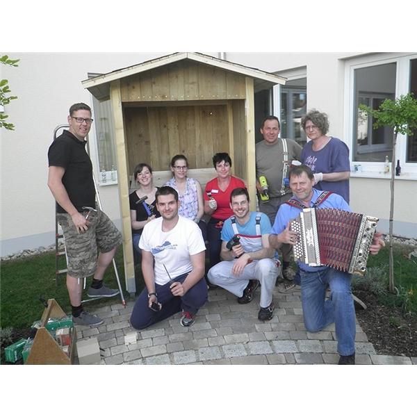 Freude schenken ist f r audi ehrensache caritasverband for Garten idee geisenfeld
